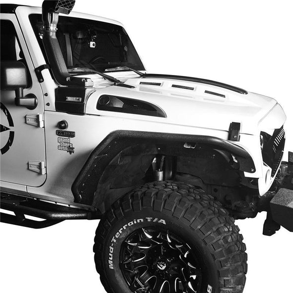 Irregular Front & Rear Fender Flares For Jeep Wrangler JK 07-18