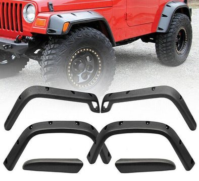 Wide Pocket Fender Flare Kit for 1997-2006 Jeep TJ