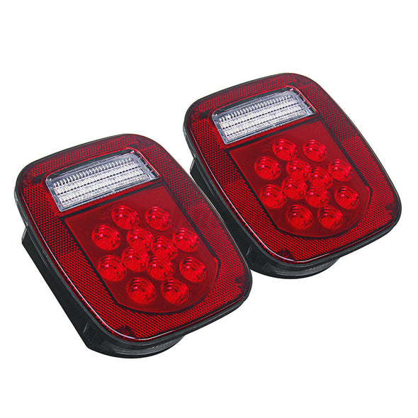 Tail Lights fit for Jeep Wrangler TJ CJ 76-06