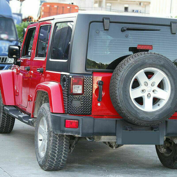 Rear Corner Armor Tail Light Guard for Jeep Wrangler JK