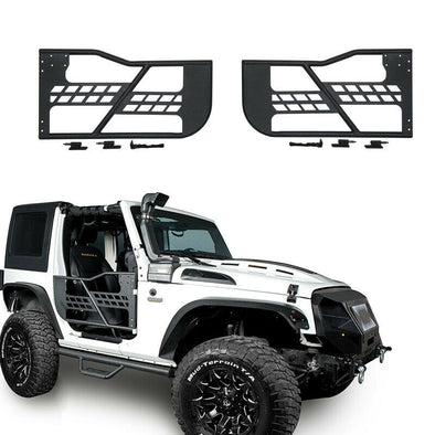 2-Door Set Front Tubular Doors for Jeep Wrangler JK