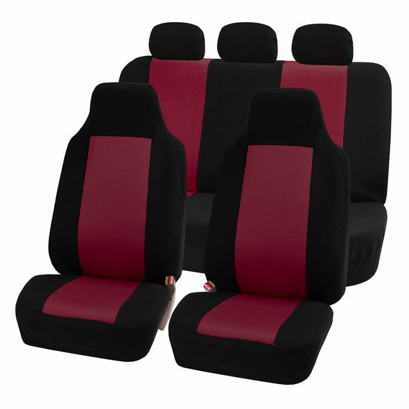 Jeep Seat Cover w/ Solid Bench fit YJ/TJ Wrangler