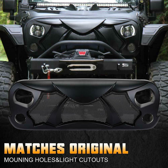 Gladiator Angry Bird Grille for Jeep Wrangler JK