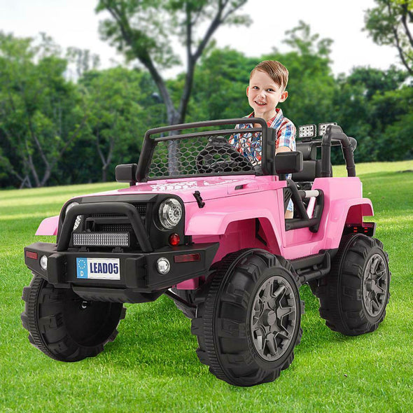 Electric Jeep for Kids Pink