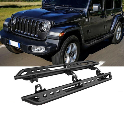 4DR Running Boards Side Steps Bars for JL