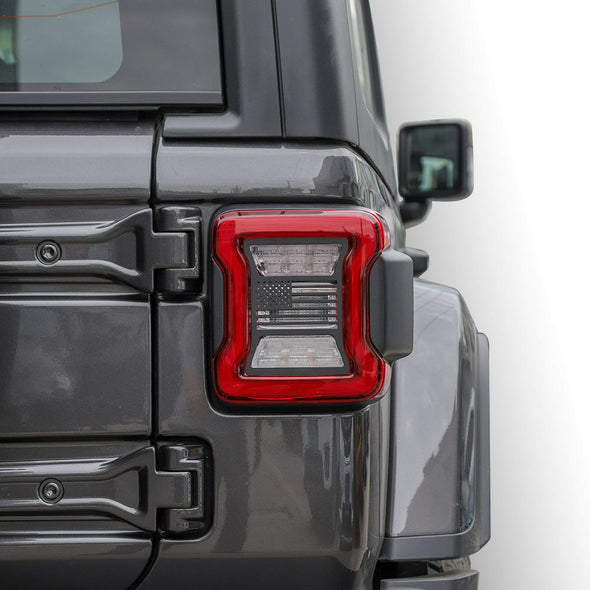 Tail Light Cover US Flag Cover for JL 2018