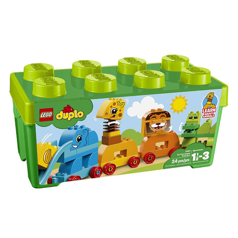 MY FIRST ANIMAL BRICK BOX DUPLO 34PCS/SET
