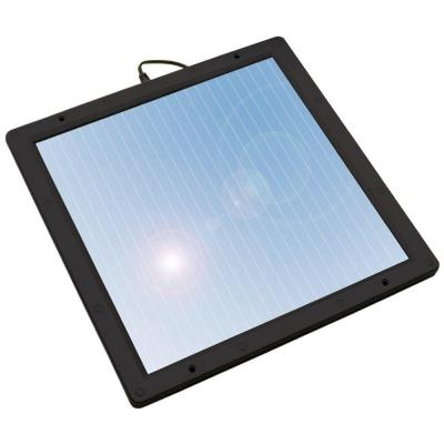 SOLAR CHARGER 12V/350MA 9.5FT WIRE CIGLIT/TRAILOR PLUG