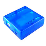 ENCLOSURE PLASTIC BLUE FOR ARDUINO 2.95 X 2.91 X 1.06IN