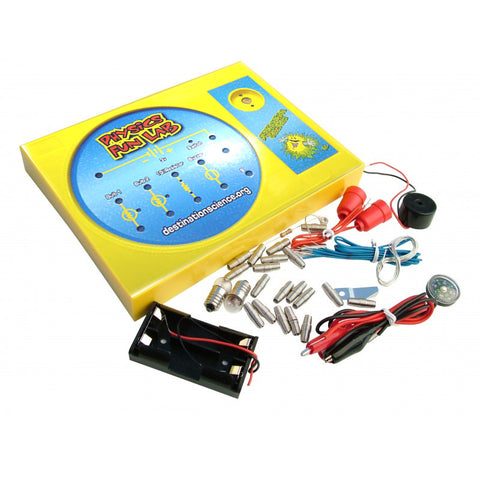 PHYSICS FUN LAB JUNIOR ELECTRICS PROJECT LAB KIT