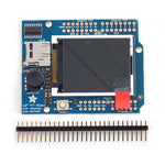 ADAFRUIT 1.8IN COLOR TFT SHIELD W/MICROSD SLOT & JOYSTICK SWITCH