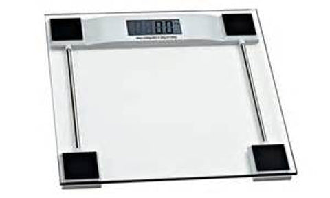 WEIGHING SCALE DIGITAL-BATHROOM MAX WEIGHT CAPACITY:150KG(330LB)