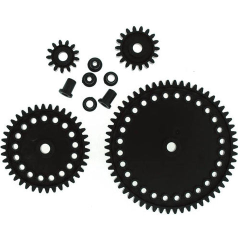 GEAR ADVANCED SET PLASTIC INCLUDES 58T 38T 18T 13T 4INSERT
