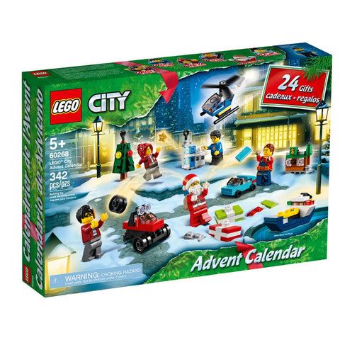 ADVENT CALENDER-CITY 342PCS/KIT