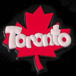 TORONTO MAGNET MAPLE LEAF