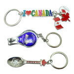 CANADA SOUVENIR KEYCHAIN ASSORTED DESIGN