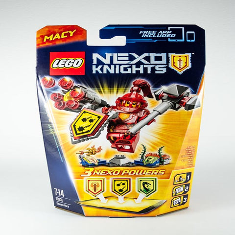 ULTIMATE MACY-NEXO KNIGHTS 101 PCS/SET