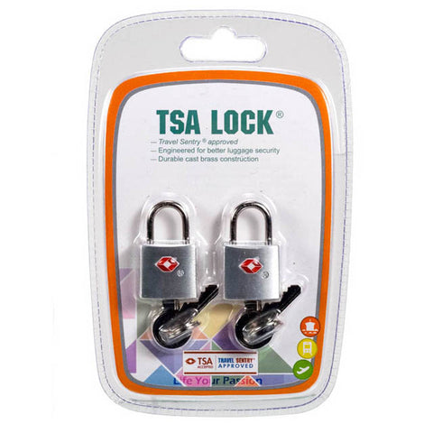 LUGGAGE LOCK BRASS TSA APPROVED