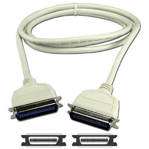 SCSI CABLE CEN50M/M 3FT MOLDED STRAIGHT THROUGH EXCEPT 1+2+3 -