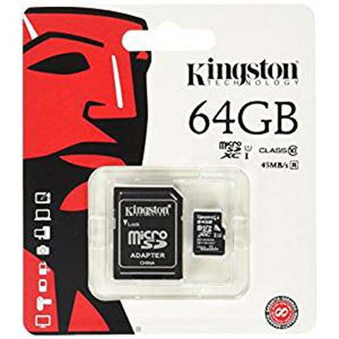 MICRO SD CARD 64GB CLASS10 80MB/S TO 100MB/S
