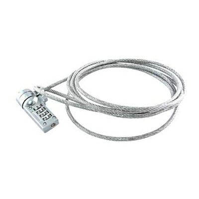 NOTEBOOK NUMERICAL CABLE LOCK SILVER