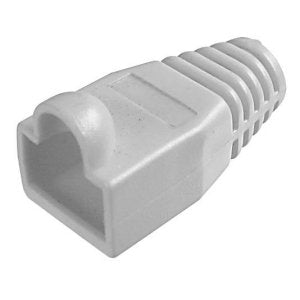 BOOT STRAIN RELIEF RJ45 GREY