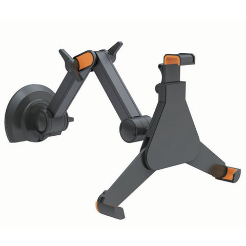 TABLET STAND RETRACTABLE WALL MOUNT W/ADJUSTABLE HOLDER