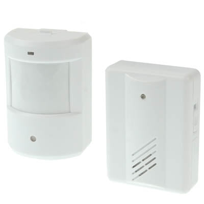 WIRELESS WANDER ALARM WITH SENSOR OPERATING RANGE TO 400FT