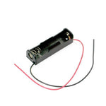 BATTERY HOLDER AAX1 PLASTIC BLK