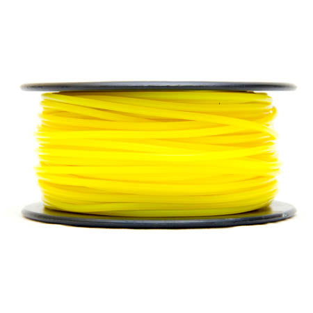 3D FILAMENT PLA YELLOW 3MM 0.5KG 1.25IN CENTER HOLE
