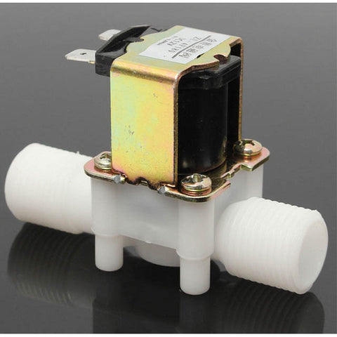 SOLENOID VALVE 12VDC WATER AIR INLET FLOW NC SWITCH 0.5INCH
