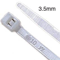 CABLE TIE NAT 11.4IN 30LB WIDTH 3.5MM