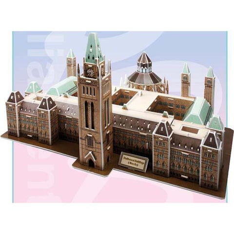 PARLIAMENT BUILDINGS CANADA-3D PUZZLE 162PCS