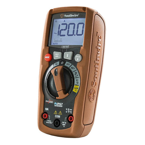 MULTIMETER DIGITAL 10A W/BASIC CATIII 600V TRUE RMS IP67
