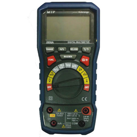 MULTIMETER DIGITAL 10A COMPUTER INTERFACE USB AUTO PWR OFF