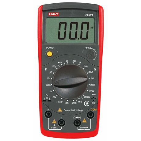 MULTIMETER DIGITAL CAPACITANCE RES