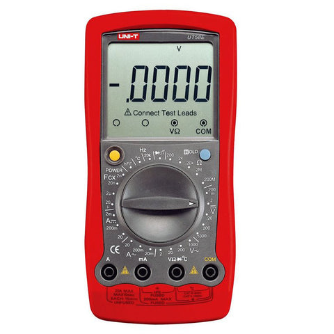 MULTIMETER DIGITAL 20A CAPACITOR DIODE/HFE/TEMP