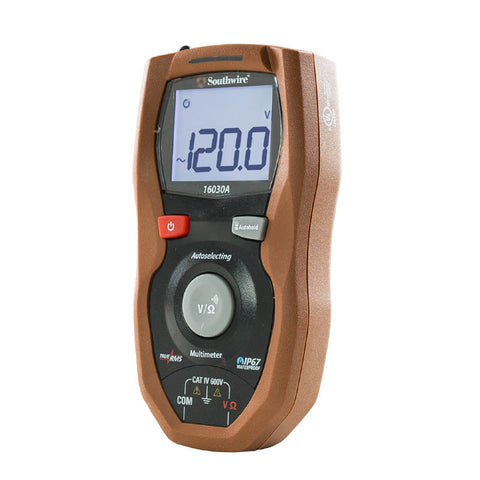 MULTIMETER DIGITAL AUTO CATIV 600V TRUE RMS IP67
