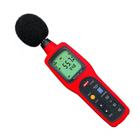 SOUND LEVEL METER 30-130DB DIGIT FREQUENCY 31.5HZ TO 8000HZ