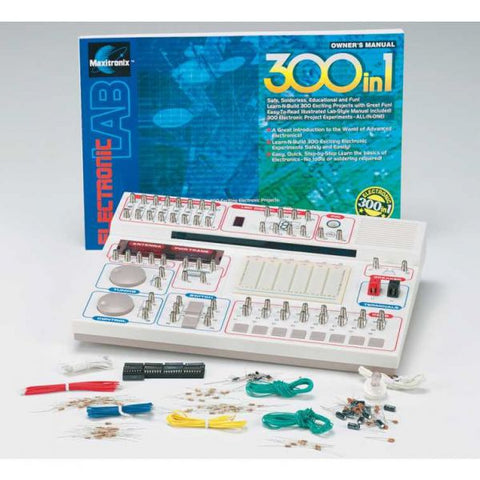 EXPERIMENTER KIT 300-IN-ONE