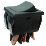 ROCKER SWITCH 1P2T 8A ON-NONE-ON 125VAC QT 13X20MM BLK