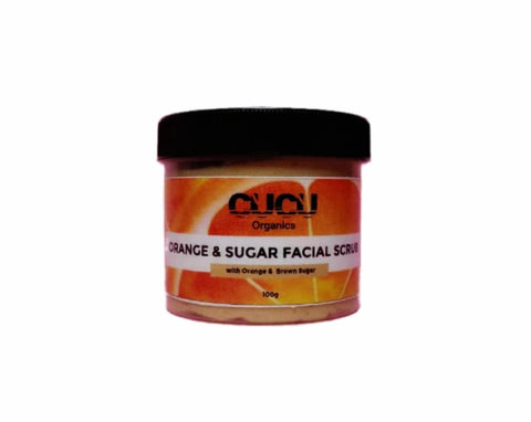 Orange And Sugar Face Scrub
