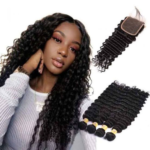 Peruvian deep wave with closure