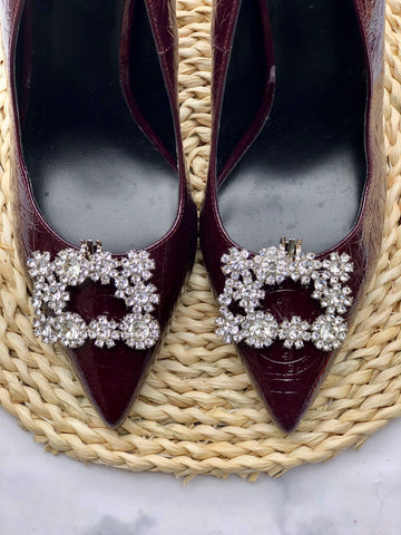 women's shoe clips
