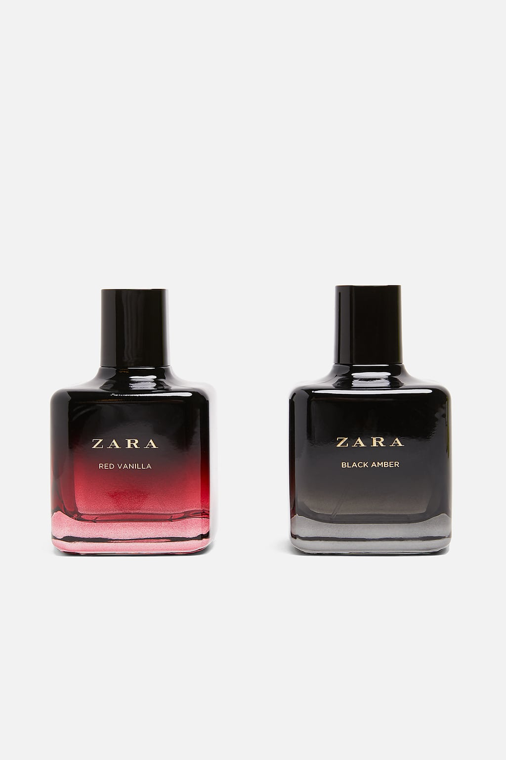 ZARA RED VANILLA AND AMBER