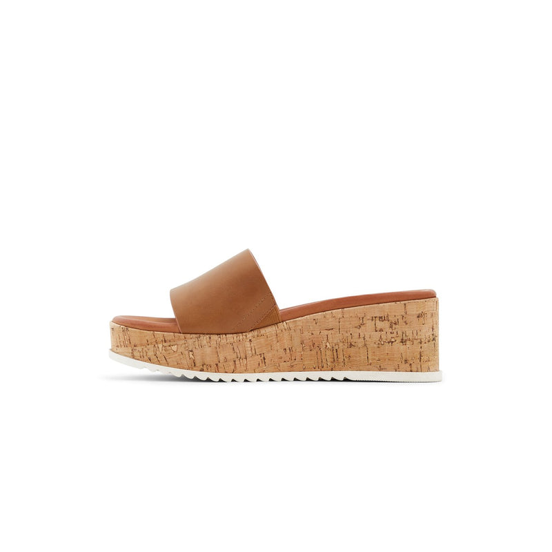CALL IT SPRING COGNAC COCK WEDGE SLIP-ON