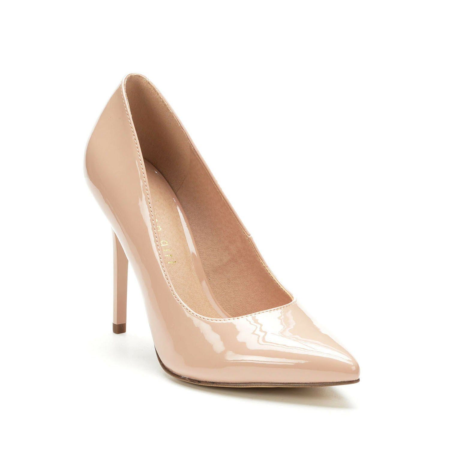 MADDEN GIRL BLUSH PATENT POINTED TOE PUMP