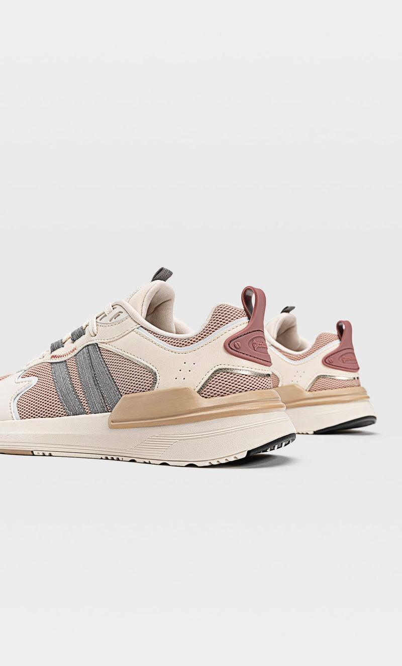 STRADIVARIUS COMBINED TRAINERS WITH CONTRAST PIECES