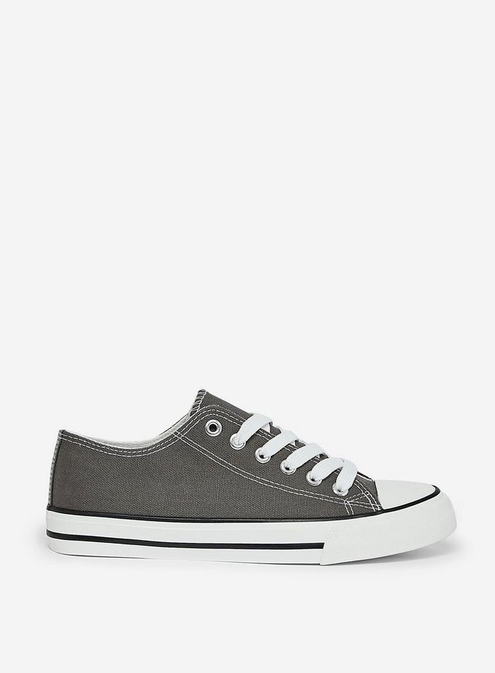 DOROTHY PERKINS GREY ICON TRAINERS