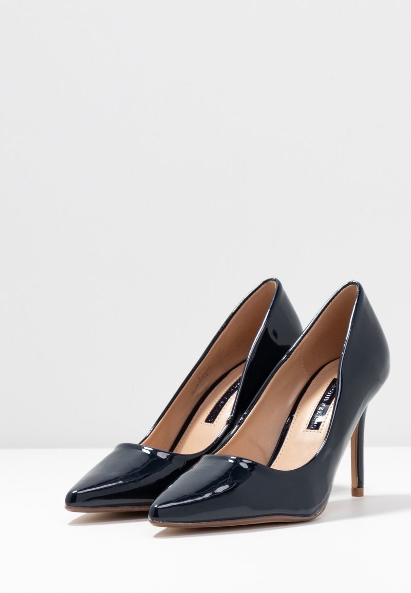 DOROTHY PERKINS NAVY DELE COURT SHOES
